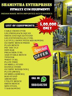 Equipment available best price for Gym