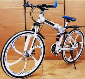 BM Foldable Bicycle With 21 Shimano Gears