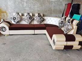 Newly made L shaped sofa set direct from factory at lowest price