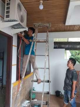 Service AC Barokah siap dipanggil di seluruh Kecamatan Medan Kota