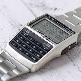Jam Tangan Casio Kalkulator DBC-32D Original