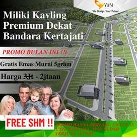 Kavling Dekat Aero City Kertajati Hanya 2,25Juta/m2
