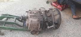 Gear box pump nozzle altineter self