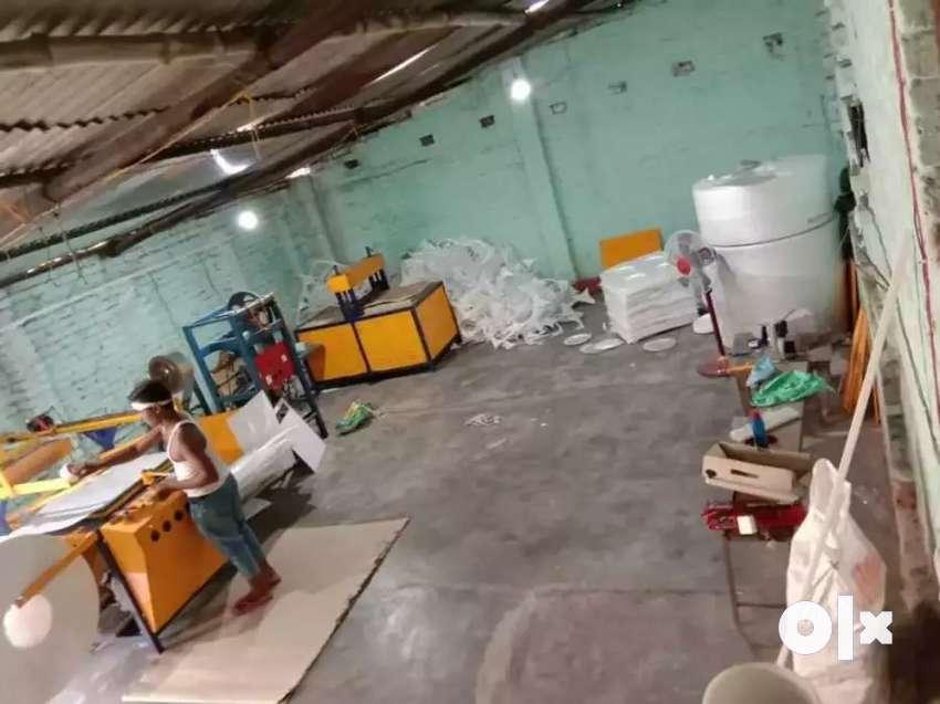 Thermocol Plates Making Machine & paper plate making machine 0