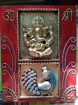 Frame of shri ganesha