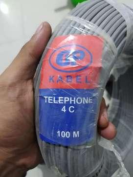 kabel telphone 100 M baru
