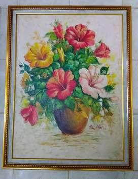 Jual Borongan Lukisan Pallet Painting Plus Pigura