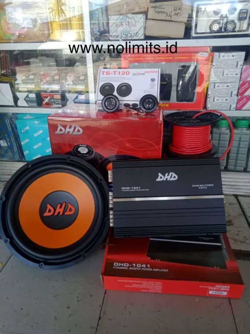 SALLE AKHIR TAHUN PAKET AUDIO DPT SUBWOOFER POWER TWEATER DAN MASANG 0