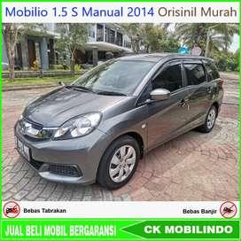 (Dp23jt) Mobilio 1.5 S Manual 2014 Orisinil Kredit Murah