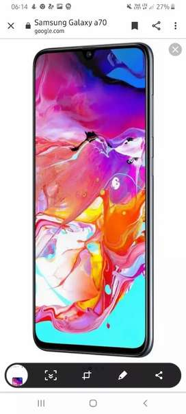 New look Samsung Galaxy a70