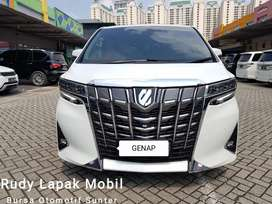 [Like New] Toyota Alphard 2.5 G ATPM 2018 Tgn Pertama dr Baru