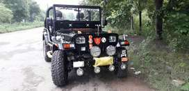 Powerful enjan fitted jeep