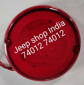12v round led tail light for Jeeps