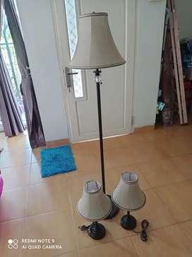 Jual lampu duduk dan berdiri set
