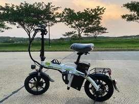 Sepeda Listrik E Bike Folding Lipat UWINFLY Electra Bergaransi BDG