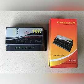 Solar Charge Controller 10A C2415 Pengisi Daya Surya 12V24V - Sepuluh