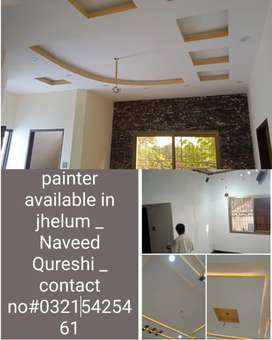 High experienced painter