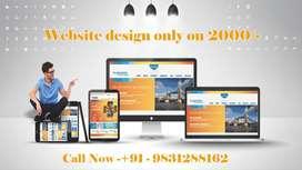 Website Design only 2000 Rupees
