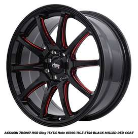 Velg Mobil Accord, Vios, Altis dll Ring 17 HSR ASSASIN