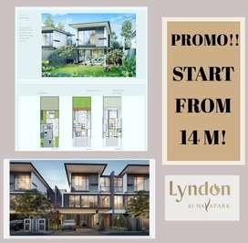 SALE!Rumah Premium Desain Mewah Konsep Terbaik @Lyndon at Navapark BSD