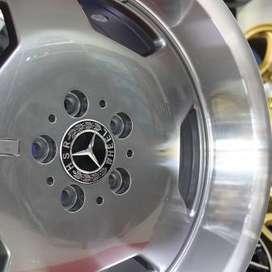 velg type AMG EURO JD85270 HSR Ring.18 Lebar.8-9 PCD.5X112 ET.40-35 GM