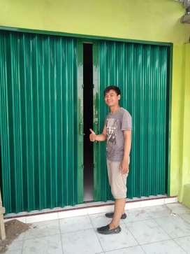 rolling door foulding gate