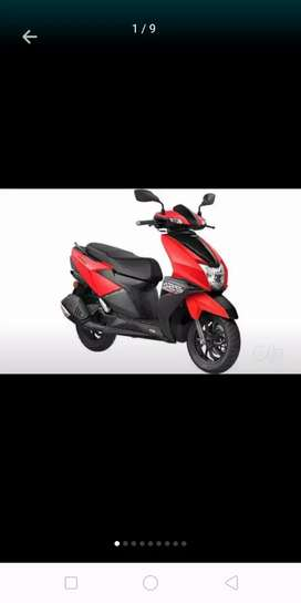Tvs ntorq great scooty with good mileage