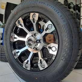 Velg Mobil Rush dll Ring 16 HSR Wheel MANGROVE BMF