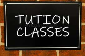 Tution for class 1 to 6 and intermediate cec