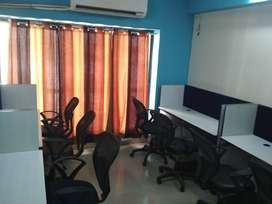 417 Sqft Furnished Office for rent in Makarba (Prahladnagar Extension)