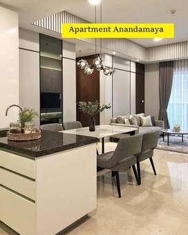 Apartment Anandamaya Residence Sudirman (Luas 129m) Lt.7 Mewah