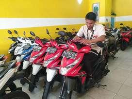Honda Beat sexy girl profile motor Teluk Dalam