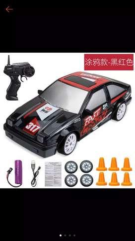 RC Drift mini scale 1/24 Quick drive 4WD dengan lampu bukan k989 k969