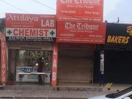 B Road Booth for Rent in Panchkula Sector-8