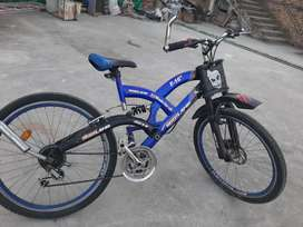 7 gears cycle with new tyres and in good condition