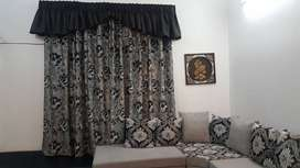 Brand new curtains with Pelmet