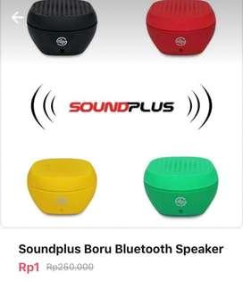 Speaker bluetooth Soundplus hijau