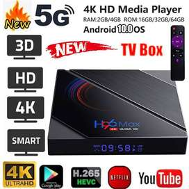 Purple Offer H96MAX H616 Android 10 4GB/32GB  6K android tv box