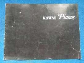 Brosur Kawai piano
