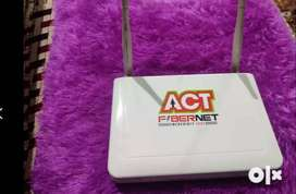 ACT FIBERNET INCREDIBLY FAST Router At Very Low Cost