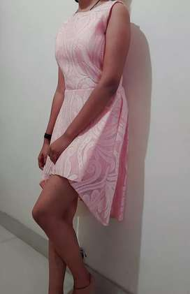 Short pink one piece..for teenage girls