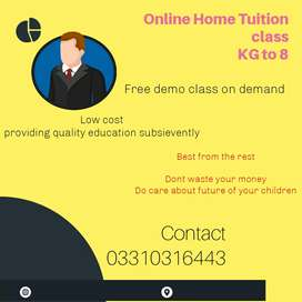 EDUCATION that your child seek (class 1 to matric)