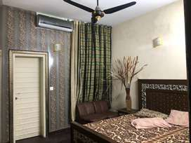 DHA fully furnished 2 bedrooms living kitchen for rent