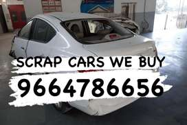 Bs. Scrap cars bought by us we buy junk cars accidental cars