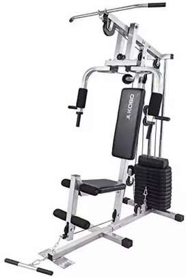 Home gym machines bench dumbells