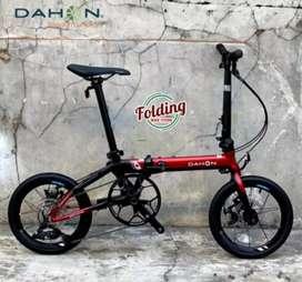 Sepeda lipat DAHON K3 PLUS, 16 inch, 9 Speed