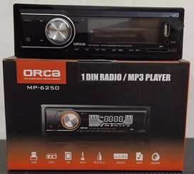 Tape Mobil Single din Mp3 dan USB ORCA MP-6250