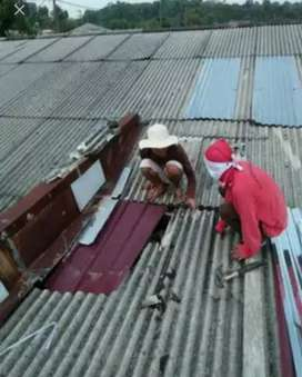 Spesialis Bocoran atap,talang,dak, renovasi rumah,bangunan, keramik