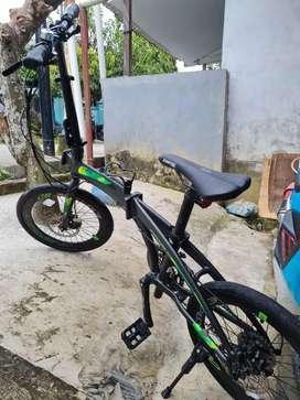 Sepeda Lipat Exotic 9.0