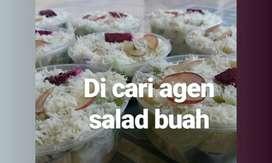 Dicari agen untuk salad buah